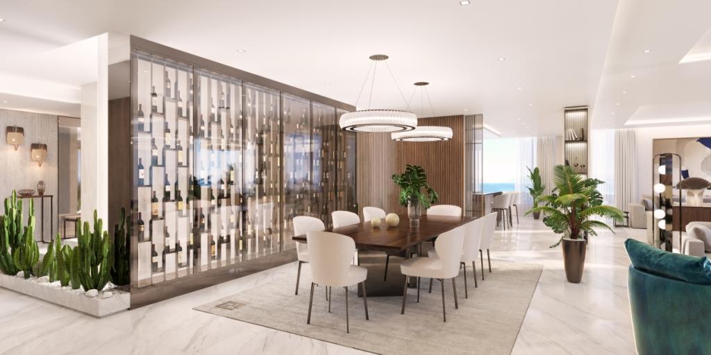 06. Sky Villa Dining Area