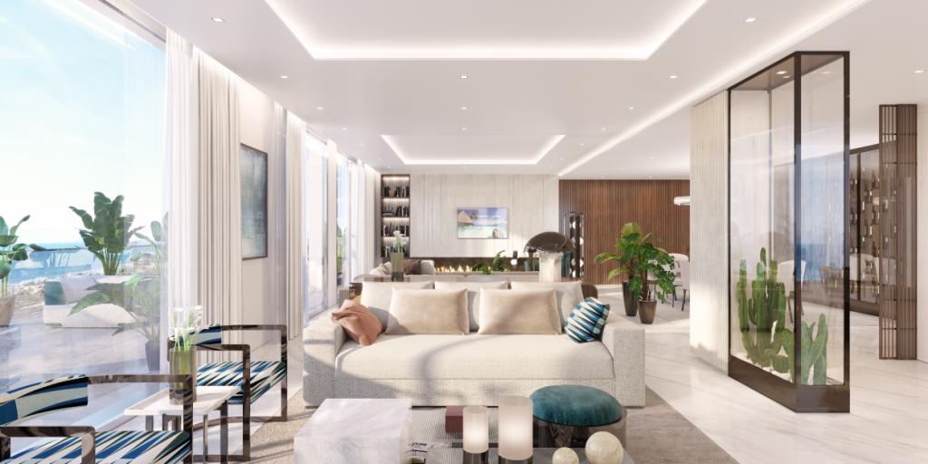 09. Sky Villa Living Area