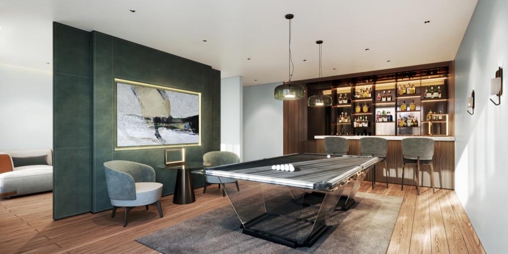 11. Sky Villa Entertainment Room