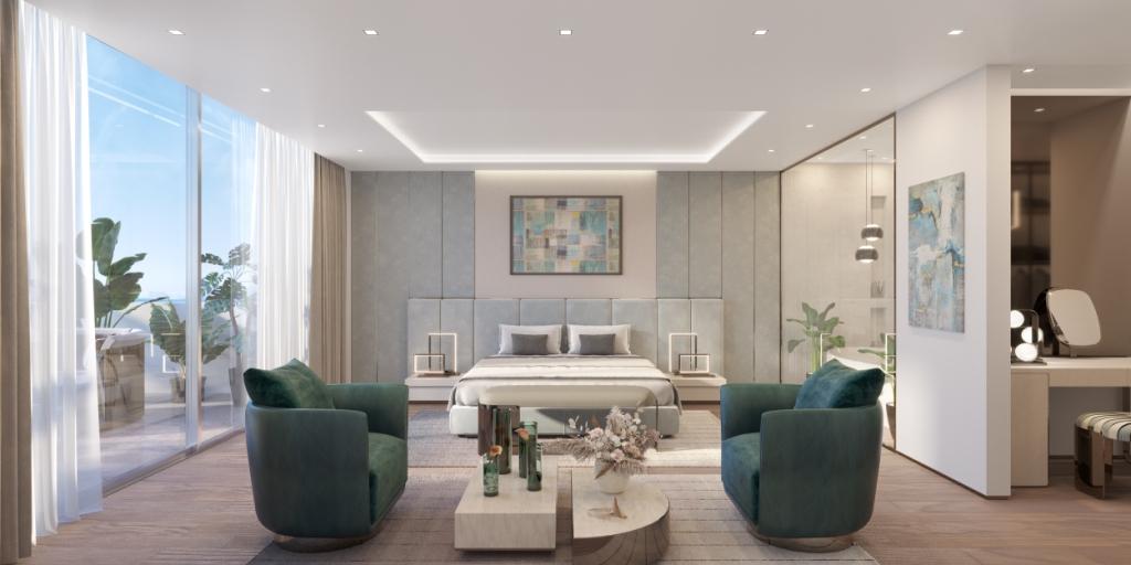 12. Sky Villa Master Bedroom