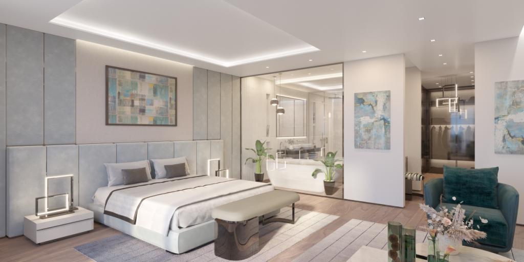 13. Sky Villa Master Bedroom