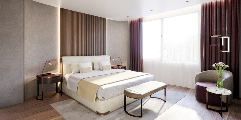15. Sky Villa Guest Bedroom