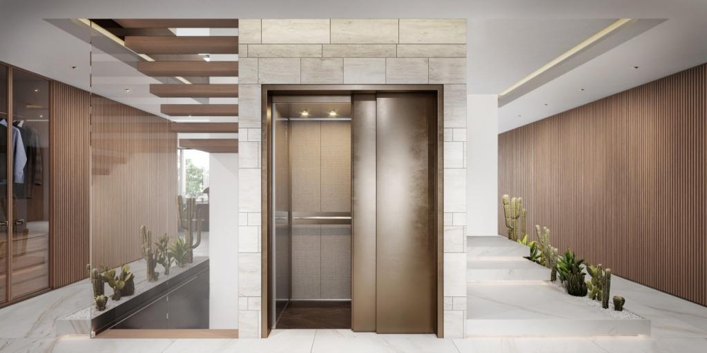 18. Sky Villa Private Lift