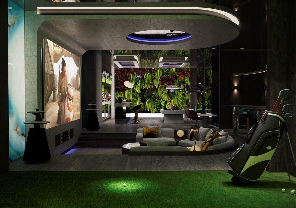 35 Basement Cinema Entertainment Area 5