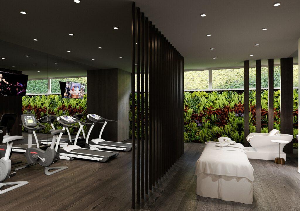 39 Basement Gym Wellness Area 1
