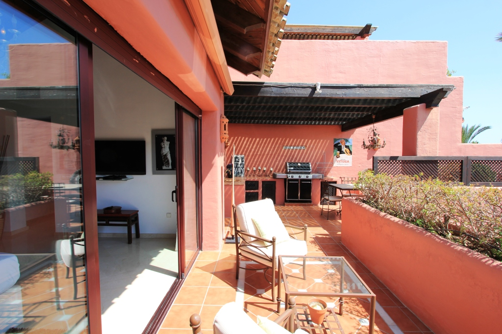 main terrace next to master bedroom